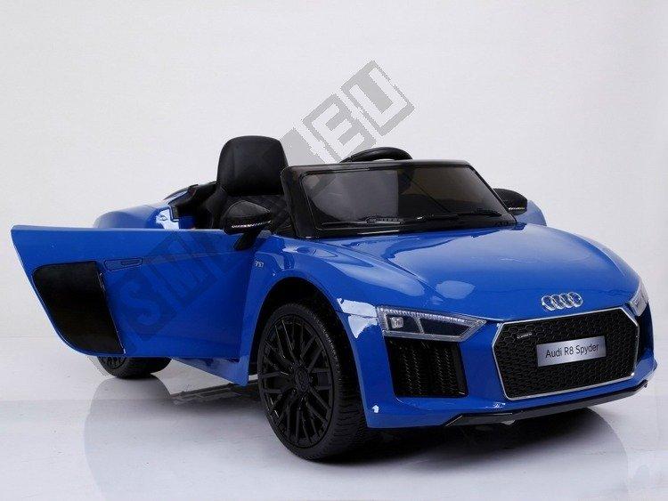 ... Auto Battery Audi R8 Spyder Pilot 2, 4 G Blue Lacquered ...