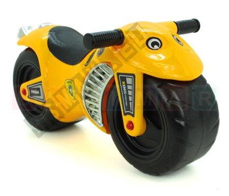 Motor bike speed racer yellow