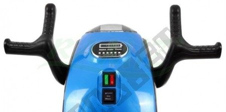 Super motorek Hornet blue battery