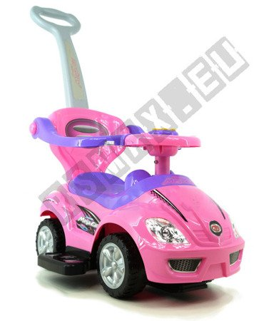 The vehicle, Walker, pusher 3 in 1 pink