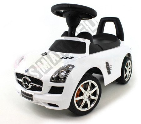 MERCEDES SLS AMG pusher Walker white