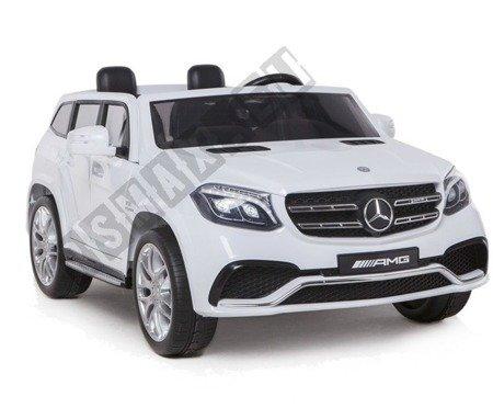 Auto Batterie Mercedes Benz AMG GLS63 weiß