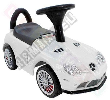 Mercedes-Benz SLR McLaren Lizenz Rutschauto Rutscher Kinderauto weiß