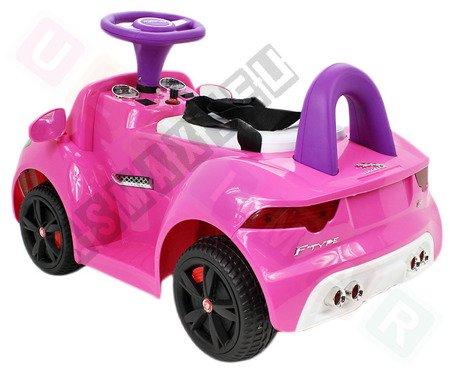 Jeździk na akumulator Jaguar F-Type różowy