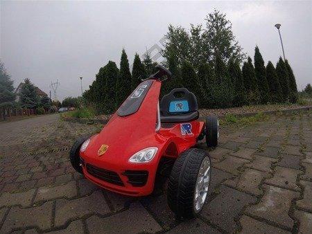 Pojazd na akumulator Gokart 2.4g czerwony