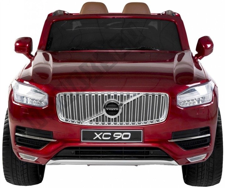 Car On Volvo Xc90 Battery Red Lacquered Electric
