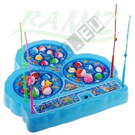 Arcade game catching fish happy fishing