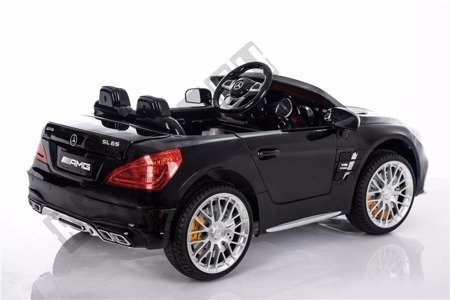 Mercedes-Benz SL65 AMG Coupe black battery