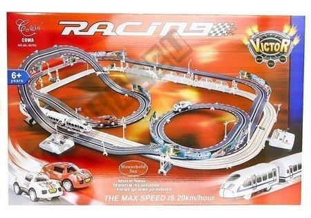 2in1 Racing Kit RC Rail Tracks Motorway Vehicles