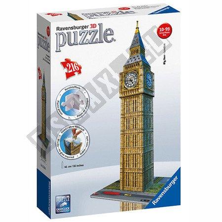 3D Spatial Puzzle Big Ben 216 elements