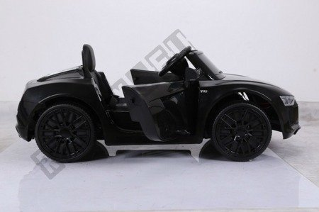 Auto battery Audi R8 Spyder license black lacquered