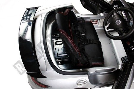 Auto battery Mercedes SLS AMG  grey lacquered