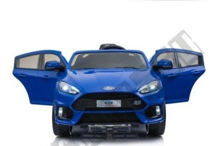 Auto on battery Ford Focus RS 2 engines blue