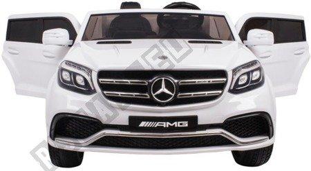 Auto on battery Mercedes GLS63 white