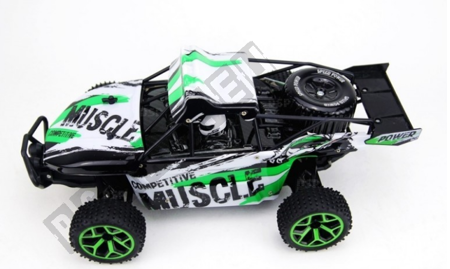 Auto remote control TM X-Knight 1/18 RC green