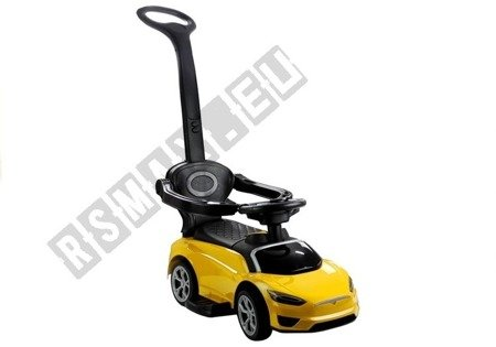BDQ5199 Toddlers Ride-On with Parent Handle Yellow