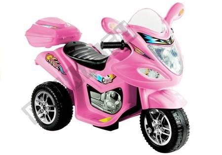 BJX-88 Electric Ride-On Motorbike Pink