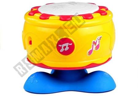 Baby Toddler Interactive Drum With Lights & Sounds