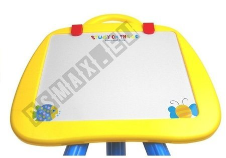 Big Magnetic Blackboard With Letters And Numbers Two Colors