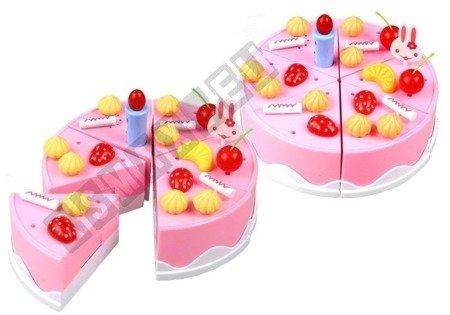 Birthday cake to slicing