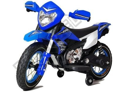 Blue Electric Ride On Bike FB-6186 Motorcycle