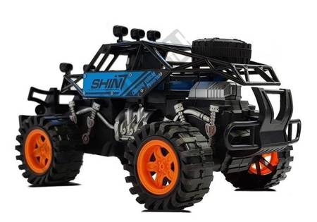Blue Off-Road Vehicle with tension