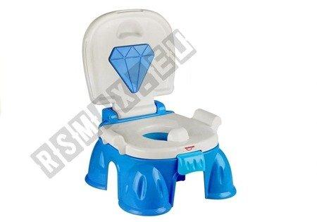 Blue Potty Toilet For Kids