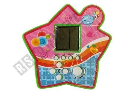 Brick Game Electronic Tetris Portable Star