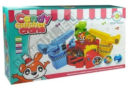 Candy Catcher Rotating Game Catch Your Prize