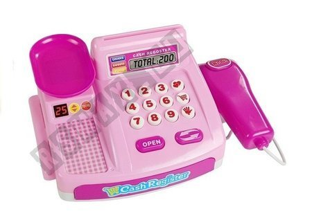 Candy Shop Cash Register Pink 35PCS