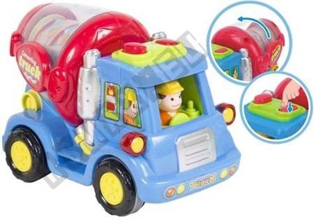 Cartoon Cars - Combine-Harvester, Trash Truck, Mixer Truck