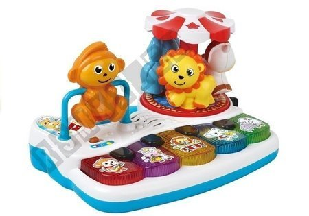 Colorful Piano with Animal For Kiddie