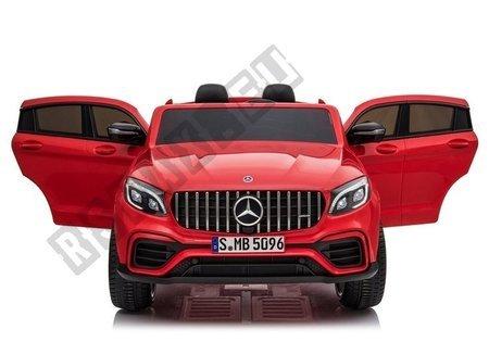 Electric Ride-On Car Mercedes GLC 63S QLS Red