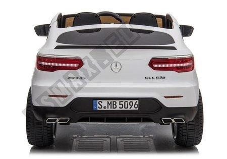 Electric Ride-On Car Mercedes GLC 63S QLS White