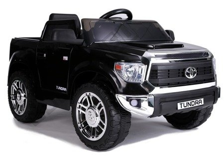 Electric Ride-On Car Toyota Tundra Black Painted