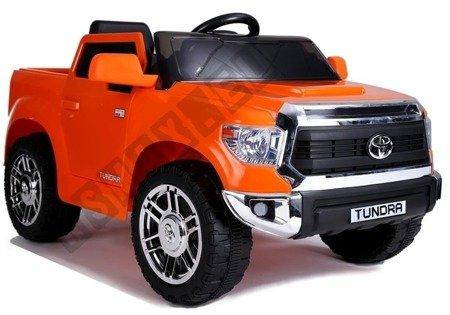 Electric Ride-On Car Toyota Tundra Orange Painted