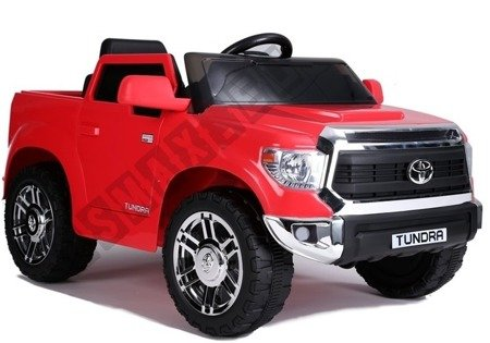 Electric Ride-On Car Toyota Tundra Red