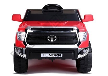 Electric Ride-On Car Toyota Tundra Red Painted