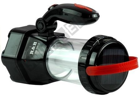 Flashlight Solar Charged 3 in 1 RB-1912