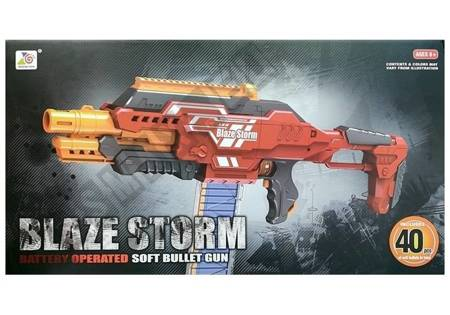 Foam Bullet Gun Rifle 40 pcs with Big Clip
