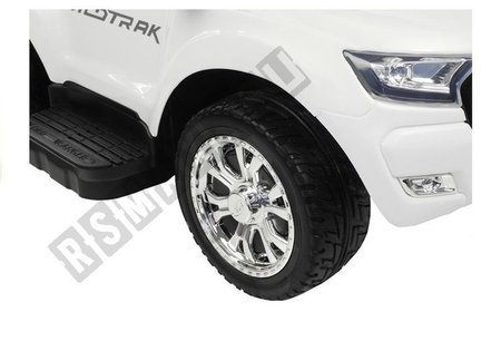 Ford Ranger Wildtrak White - with Parent Handle