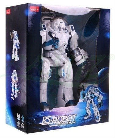Interactive robot remote-controlled White