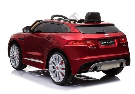 Jaguar F- Pace Electric Ride on Car - Red Painting