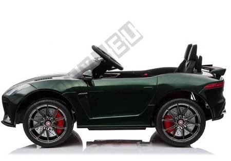 Jaguar F-Type Green Painting - Electric Ride On Car