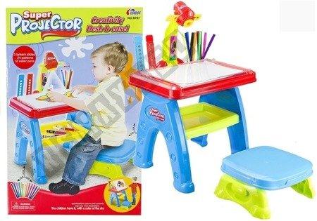 Kids Projector Desk & Easel Creative Toy