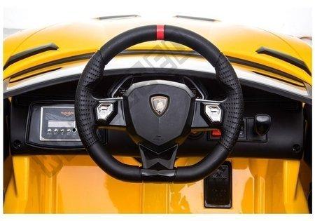 Lamborghini Aventador Electric Ride On Car - Yellow