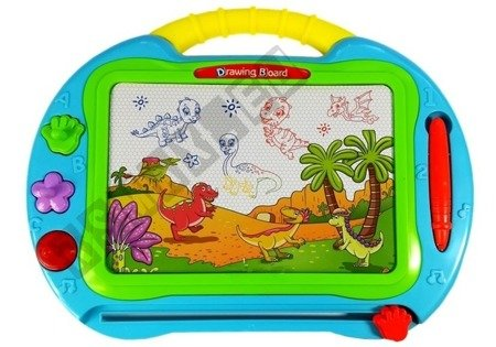 Magnetic Drawing Board with Stamps