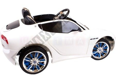 Maserati rechargeable battery 12V white