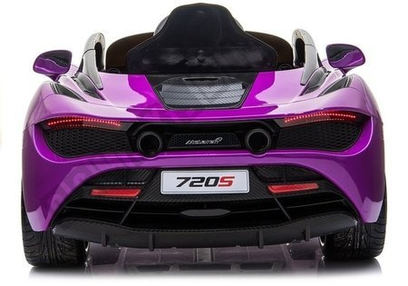 McLaren 720S Electric Ride On Car - Purple Painted