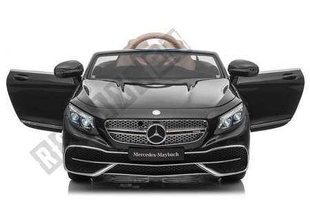 Mercedes Maybach Electric Ride On Car - Black Painted